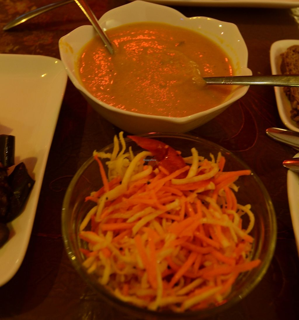 """Photo of Samadeva  by <a href=""""/members/profile/Ciad"""">Ciad</a> <br/>Carrot Salad, Soup <br/> February 20, 2016  - <a href='/contact/abuse/image/35294/243090'>Report</a>"""