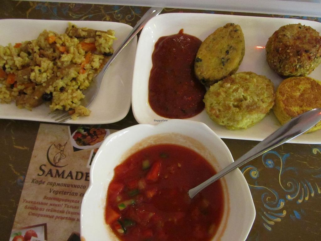 """Photo of Samadeva  by <a href=""""/members/profile/CLRtraveller"""">CLRtraveller</a> <br/>my meal <br/> December 29, 2013  - <a href='/contact/abuse/image/35294/61241'>Report</a>"""