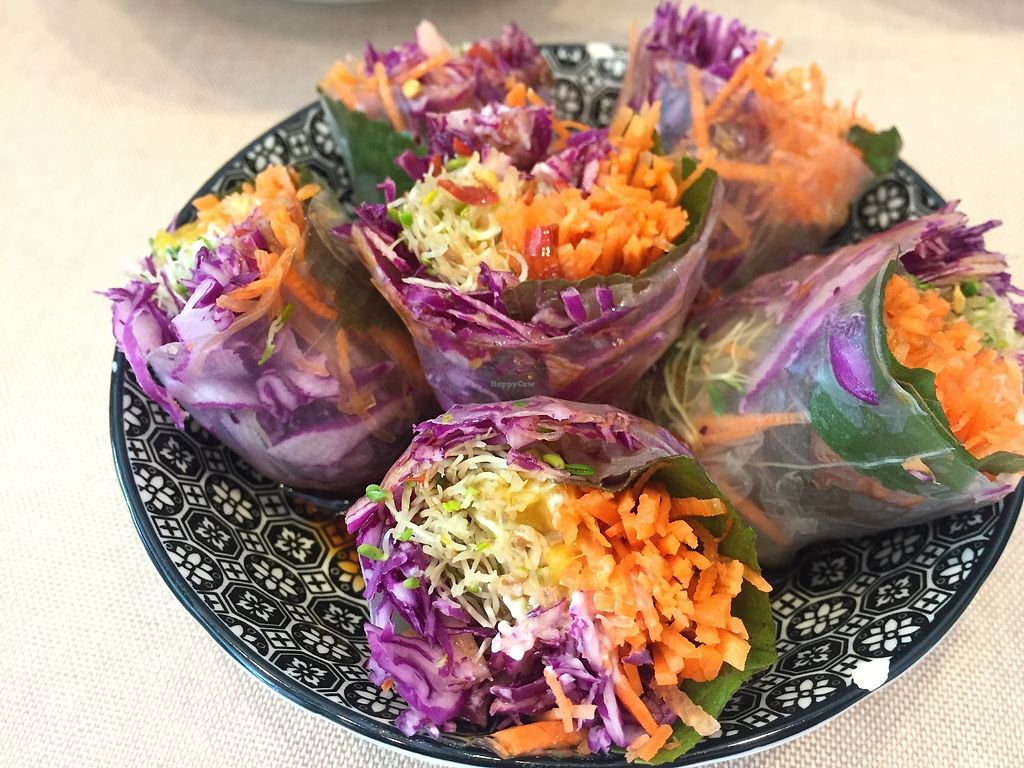 """Photo of Veggie Mama  by <a href=""""/members/profile/SamanthaIngridHo"""">SamanthaIngridHo</a> <br/>Rice paper rolls <br/> August 22, 2017  - <a href='/contact/abuse/image/35309/295799'>Report</a>"""