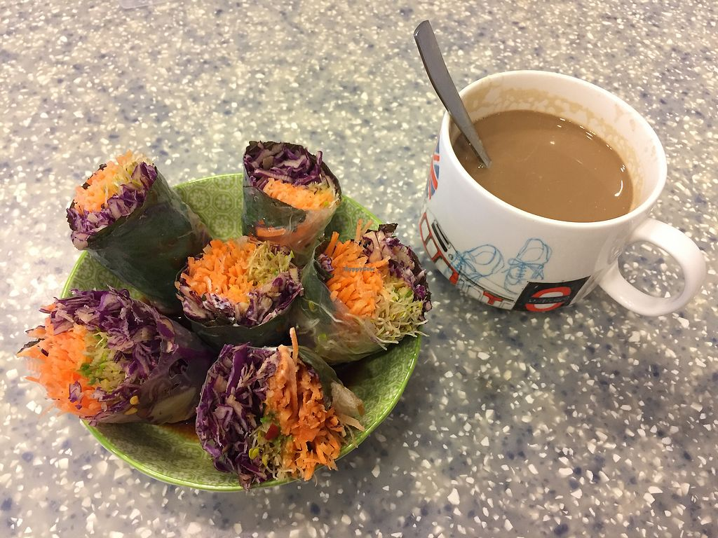 """Photo of Veggie Mama  by <a href=""""/members/profile/KaManChung"""">KaManChung</a> <br/>Signature rice paper rolls <br/> September 15, 2017  - <a href='/contact/abuse/image/35309/304666'>Report</a>"""