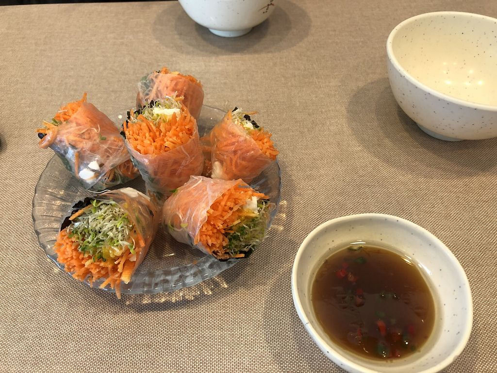 """Photo of Veggie Mama  by <a href=""""/members/profile/Peg-LamMa"""">Peg-LamMa</a> <br/>Paper rice roll <br/> March 25, 2018  - <a href='/contact/abuse/image/35309/375817'>Report</a>"""