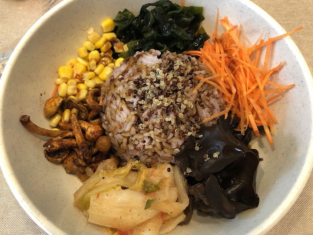 """Photo of Veggie Mama  by <a href=""""/members/profile/Peg-LamMa"""">Peg-LamMa</a> <br/>Korean mixed veggie rice <br/> March 25, 2018  - <a href='/contact/abuse/image/35309/375818'>Report</a>"""