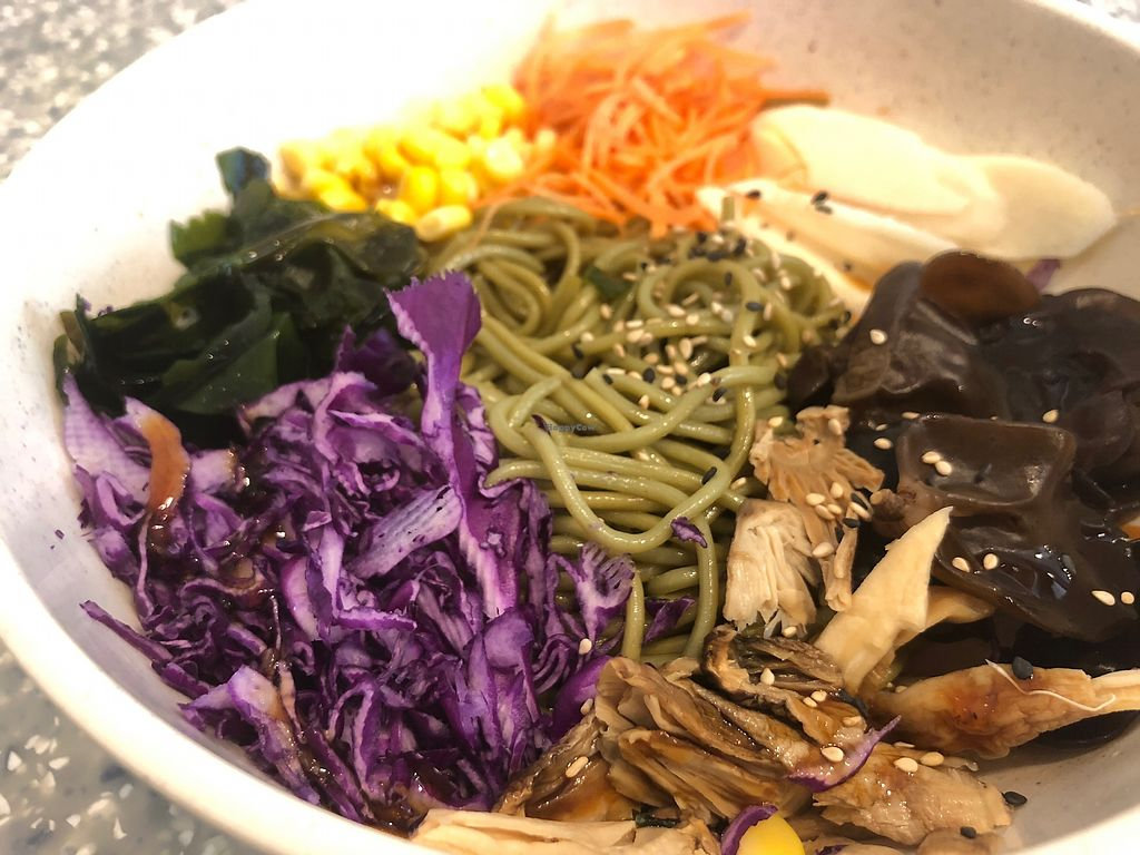 """Photo of Veggie Mama  by <a href=""""/members/profile/SamanthaIngridHo"""">SamanthaIngridHo</a> <br/>Korean Style Noodles with veggie <br/> April 11, 2018  - <a href='/contact/abuse/image/35309/383924'>Report</a>"""