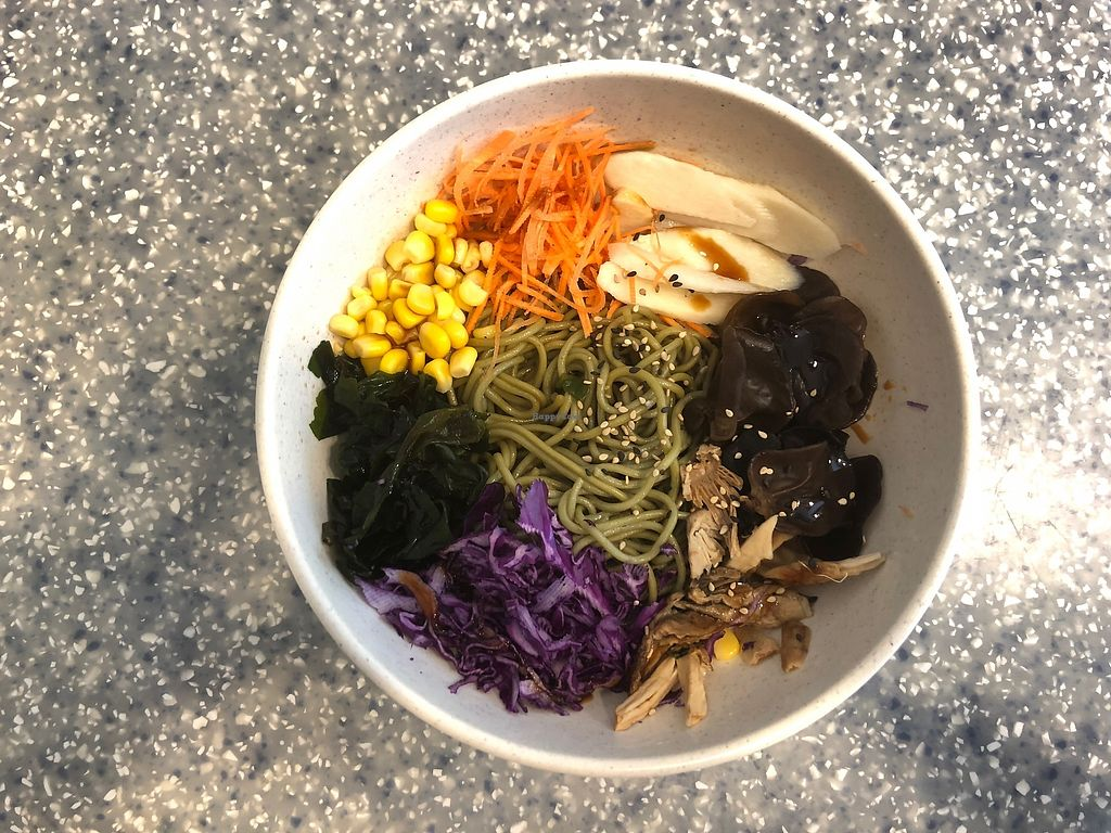"""Photo of Veggie Mama  by <a href=""""/members/profile/SamanthaIngridHo"""">SamanthaIngridHo</a> <br/>Korean Style Noodles with veggie <br/> April 11, 2018  - <a href='/contact/abuse/image/35309/383926'>Report</a>"""
