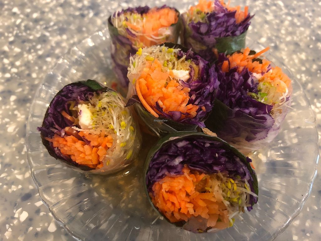 """Photo of Veggie Mama  by <a href=""""/members/profile/SamanthaIngridHo"""">SamanthaIngridHo</a> <br/>Rice Paper Rolls <br/> April 11, 2018  - <a href='/contact/abuse/image/35309/383927'>Report</a>"""