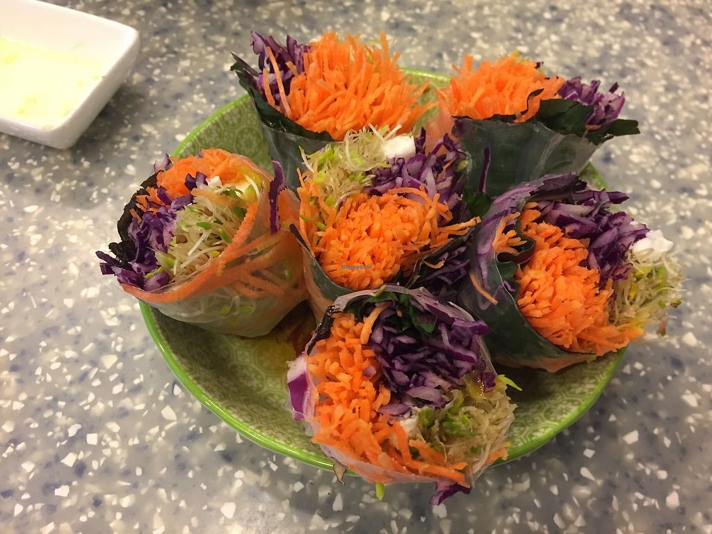 """Photo of Veggie Mama  by <a href=""""/members/profile/SamanthaIngridHo"""">SamanthaIngridHo</a> <br/>Rice paper rolls <br/> April 13, 2018  - <a href='/contact/abuse/image/35309/385118'>Report</a>"""