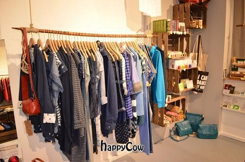 """Photo of DearGoods  by <a href=""""/members/profile/DearGoods"""">DearGoods</a> <br/>DearGoods Berlin Schivelbeiner Strasse 35 ** Fashion for Man and Woman, all vegan + fair + organic <br/> May 29, 2013  - <a href='/contact/abuse/image/35314/48906'>Report</a>"""