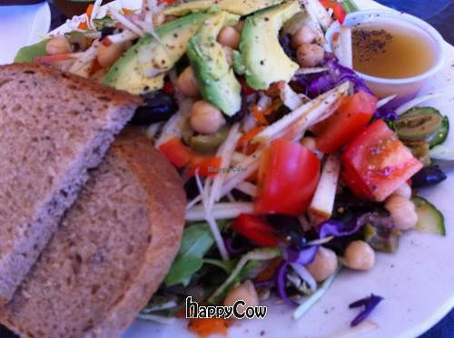 """Photo of Bread Gallery  by <a href=""""/members/profile/Rich%20Revell"""">Rich Revell</a> <br/>Great vegan salad with fresh baked bread! <br/> November 16, 2012  - <a href='/contact/abuse/image/35320/40266'>Report</a>"""
