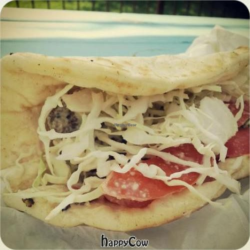 """Photo of CLOSED: Shhmaltz - Food Truck  by <a href=""""/members/profile/thelittleredjournal"""">thelittleredjournal</a> <br/>The falafel is a great choice for lunch! <br/> May 2, 2013  - <a href='/contact/abuse/image/35335/47699'>Report</a>"""