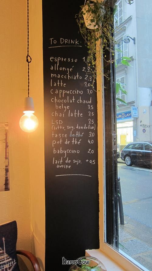 """Photo of CLOSED: Tuck Shop  by <a href=""""/members/profile/Aurelia"""">Aurelia</a> <br/>The drinks menu at Tuck Shop <br/> March 12, 2013  - <a href='/contact/abuse/image/35340/45364'>Report</a>"""