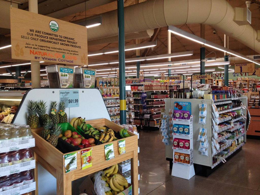 Natural Grocers Aisle Signs