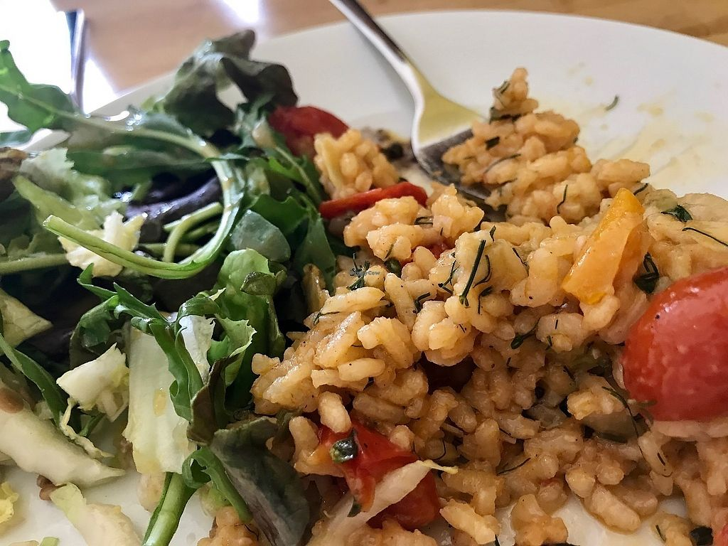 """Photo of Beetroot  by <a href=""""/members/profile/marky_mark"""">marky_mark</a> <br/>risotto & salad <br/> June 16, 2017  - <a href='/contact/abuse/image/35382/269715'>Report</a>"""
