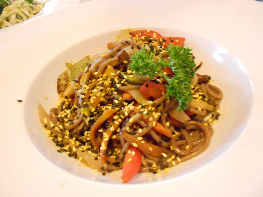 """Photo of Cafe Ukrop  by <a href=""""/members/profile/Sylvane"""">Sylvane</a> <br/>our favorite dish : buckwheat noodles (only 3.50 euros !) <br/> September 18, 2015  - <a href='/contact/abuse/image/35392/118209'>Report</a>"""