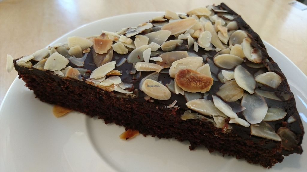 """Photo of Cafe Ukrop  by <a href=""""/members/profile/neerav"""">neerav</a> <br/>chocolate vegan cake <br/> May 30, 2016  - <a href='/contact/abuse/image/35392/151417'>Report</a>"""
