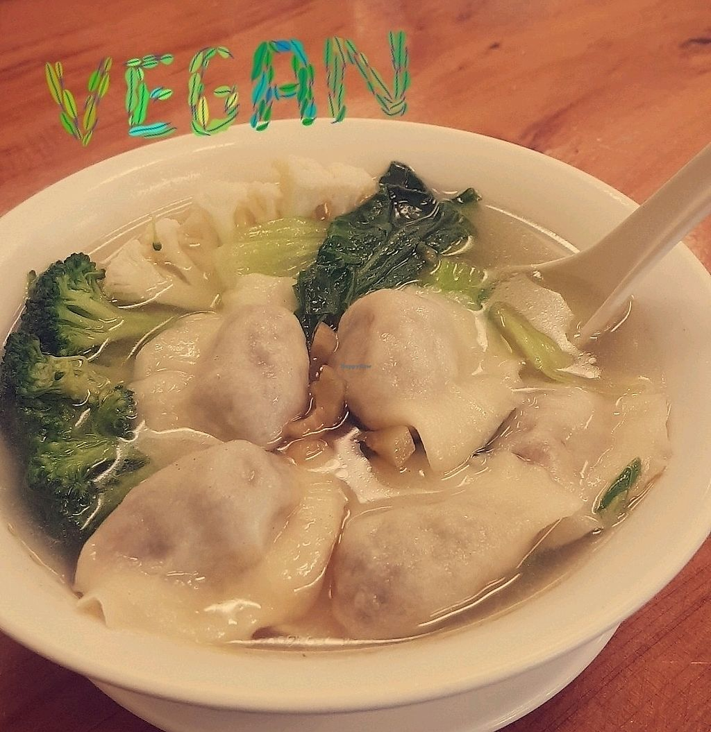 """Photo of Aunty Mena's  by <a href=""""/members/profile/AlexandraBrown"""">AlexandraBrown</a> <br/>dumpling soup <br/> January 10, 2018  - <a href='/contact/abuse/image/3540/344917'>Report</a>"""