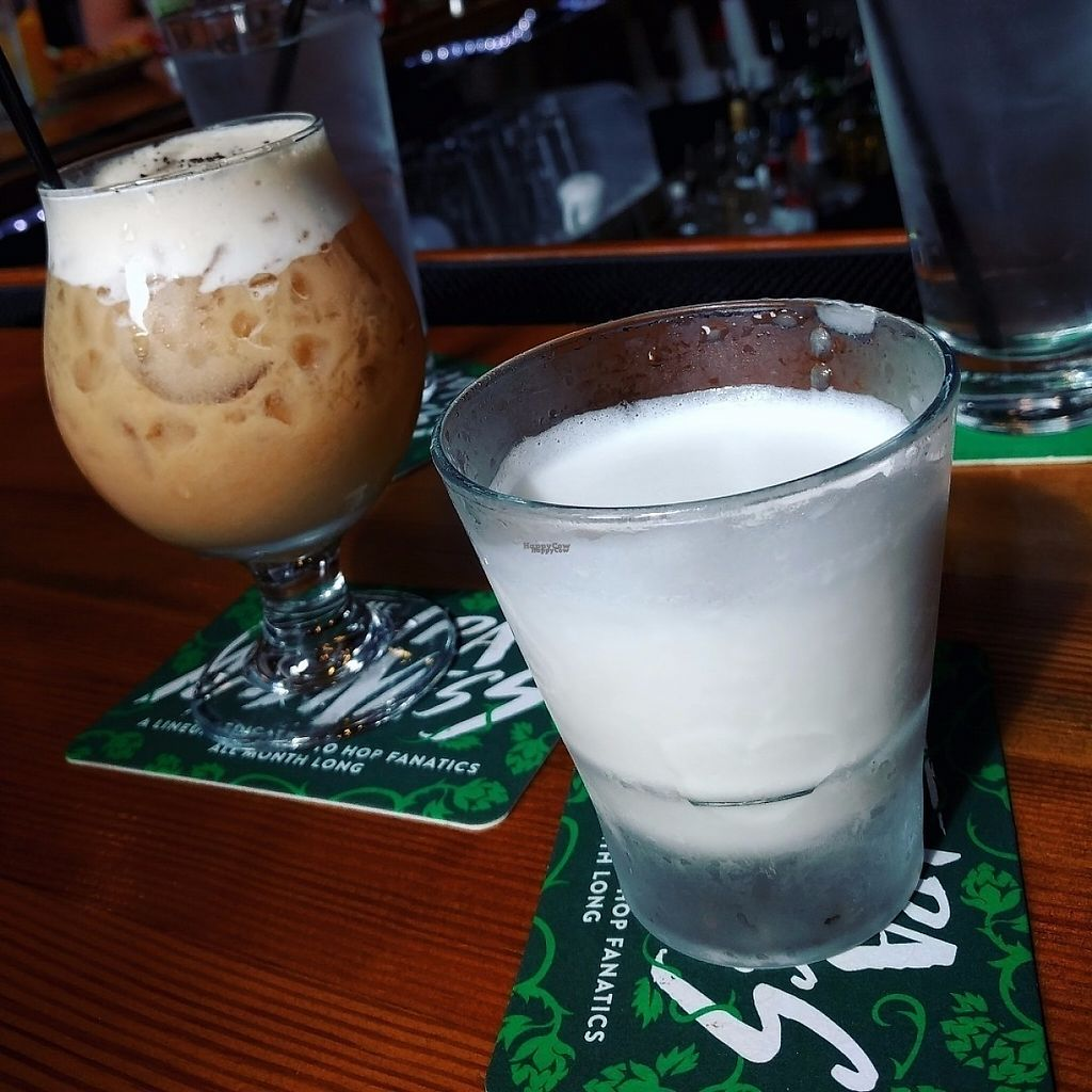 """Photo of The Chicago Diner - Logan Square  by <a href=""""/members/profile/makemenervous"""">makemenervous</a> <br/>Vegan Cocktails <br/> March 18, 2017  - <a href='/contact/abuse/image/35433/238039'>Report</a>"""
