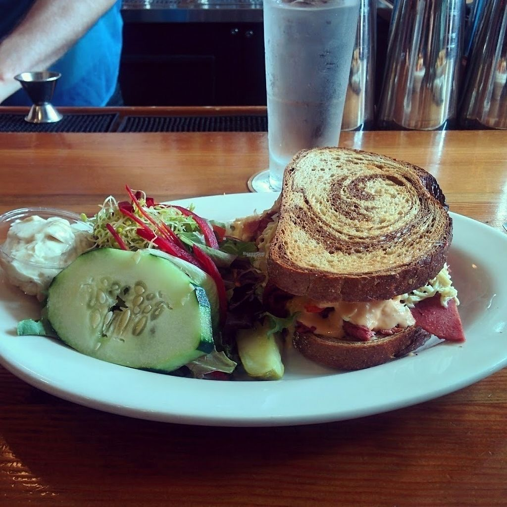 """Photo of The Chicago Diner - Logan Square  by <a href=""""/members/profile/makemenervous"""">makemenervous</a> <br/>Reuben <br/> March 22, 2017  - <a href='/contact/abuse/image/35433/239546'>Report</a>"""