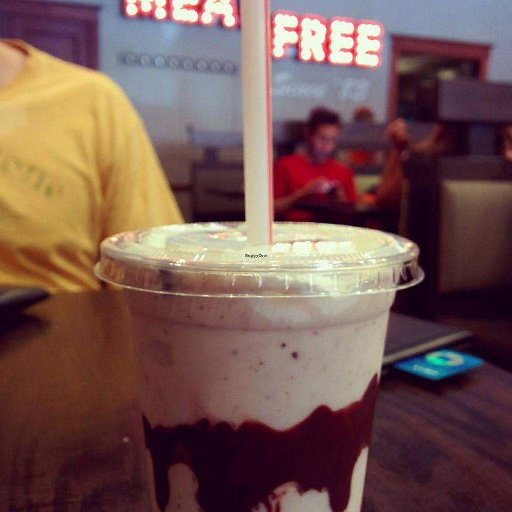 Photo of The Chicago Diner - Logan Square  by EpilepticDogs <br/>Chocolate chip cookie dough shake! <br/> January 19, 2015  - <a href='/contact/abuse/image/35433/90733'>Report</a>