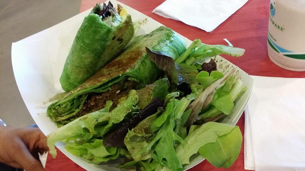 """Photo of Plum Pantry  by <a href=""""/members/profile/The%20Hungry%20Vegan"""">The Hungry Vegan</a> <br/>Mama Africa Wrap <br/> January 18, 2015  - <a href='/contact/abuse/image/35435/90645'>Report</a>"""