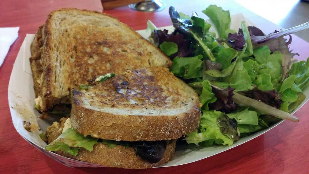 """Photo of Plum Pantry  by <a href=""""/members/profile/The%20Hungry%20Vegan"""">The Hungry Vegan</a> <br/>Chipotle Tempeh Sandwich <br/> January 18, 2015  - <a href='/contact/abuse/image/35435/90646'>Report</a>"""