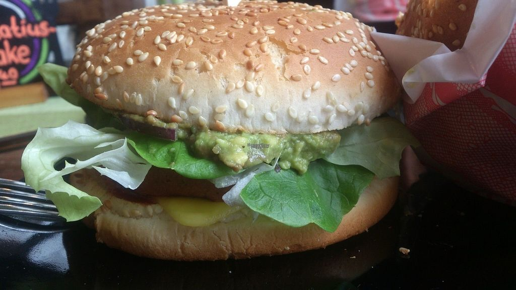 """Photo of Savory  by <a href=""""/members/profile/Tank242"""">Tank242</a> <br/>Yummy cheeseburger w/avo <br/> September 2, 2016  - <a href='/contact/abuse/image/35446/173018'>Report</a>"""