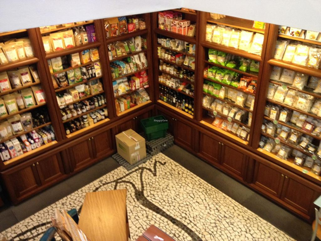 """Photo of Bioforma  by <a href=""""/members/profile/Marianne1967"""">Marianne1967</a> <br/>coming down the stairs (also to restaurant) you will find a lot of food ingredients <br/> May 16, 2015  - <a href='/contact/abuse/image/35545/102383'>Report</a>"""
