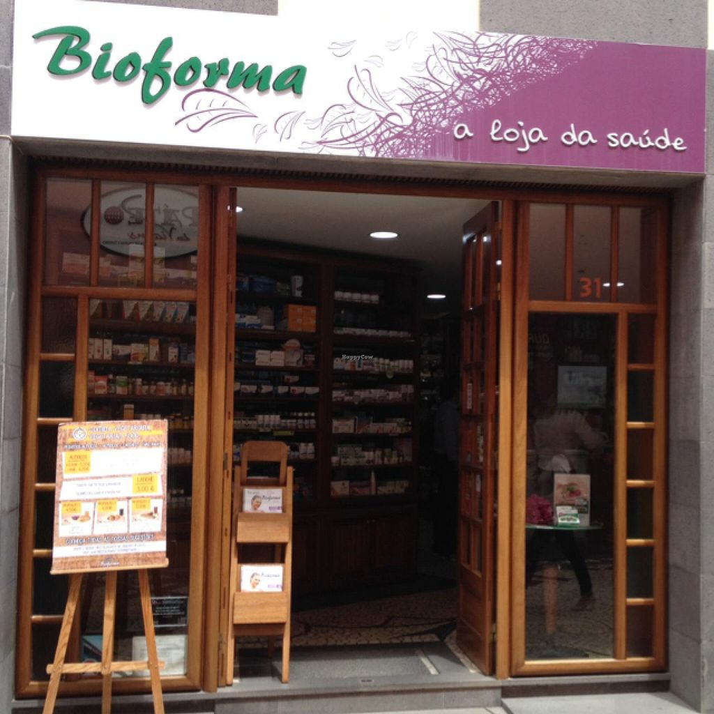 """Photo of Bioforma Restaurant  by <a href=""""/members/profile/Marianne1967"""">Marianne1967</a> <br/>entrance to store and restaurant <br/> May 16, 2015  - <a href='/contact/abuse/image/35556/102376'>Report</a>"""