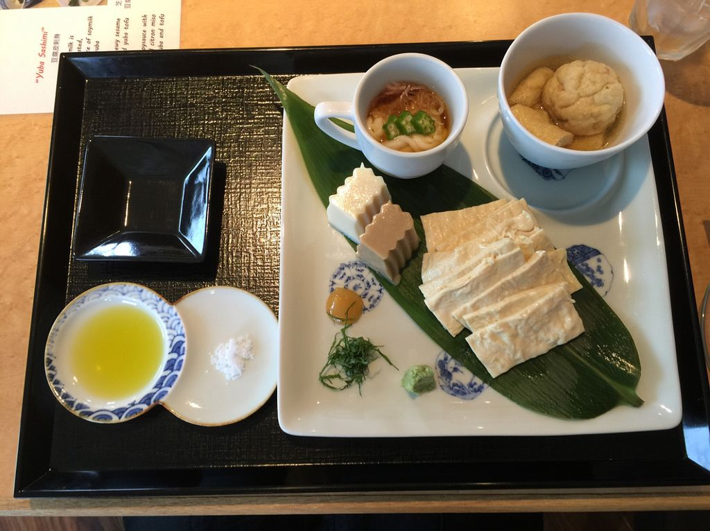 """Photo of Tofu Cafe Fujino  by <a href=""""/members/profile/Cloucel"""">Cloucel</a> <br/>large plate 2 <br/> July 5, 2016  - <a href='/contact/abuse/image/35561/157978'>Report</a>"""