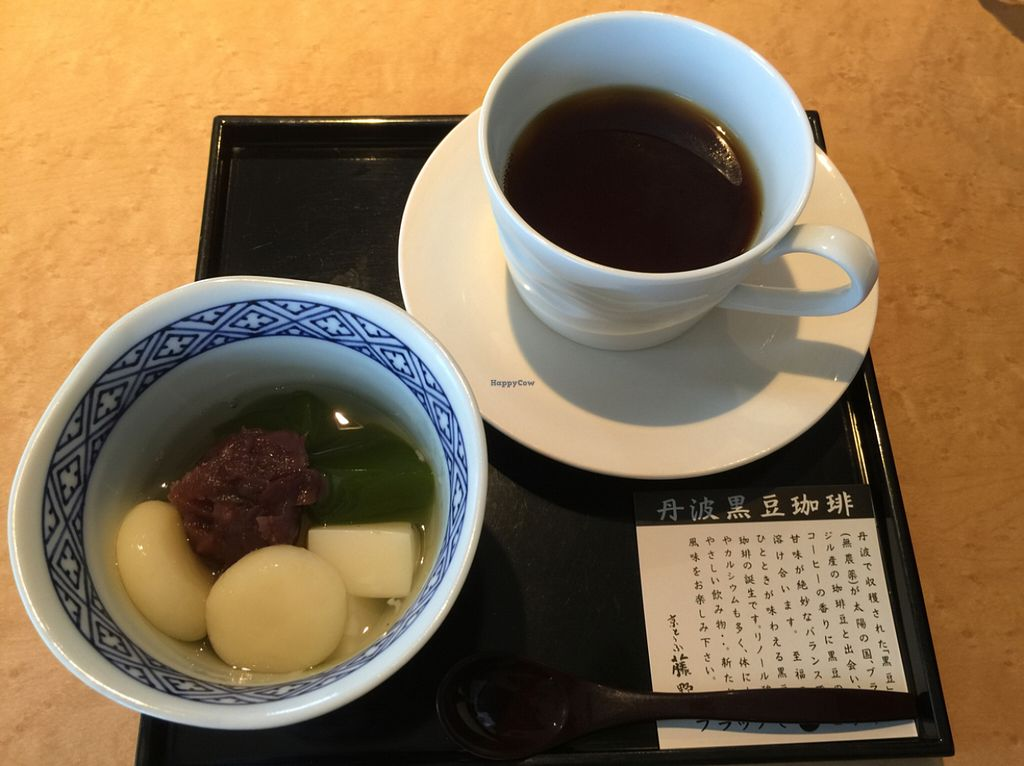 """Photo of Tofu Cafe Fujino  by <a href=""""/members/profile/Cloucel"""">Cloucel</a> <br/>dessert plate 4 <br/> July 5, 2016  - <a href='/contact/abuse/image/35561/157980'>Report</a>"""