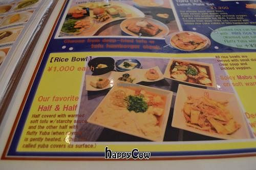 "Photo of Tofu Cafe Fujino  by <a href=""/members/profile/Shauna333"">Shauna333</a> <br/>Menu <br/> April 28, 2013  - <a href='/contact/abuse/image/35561/47452'>Report</a>"