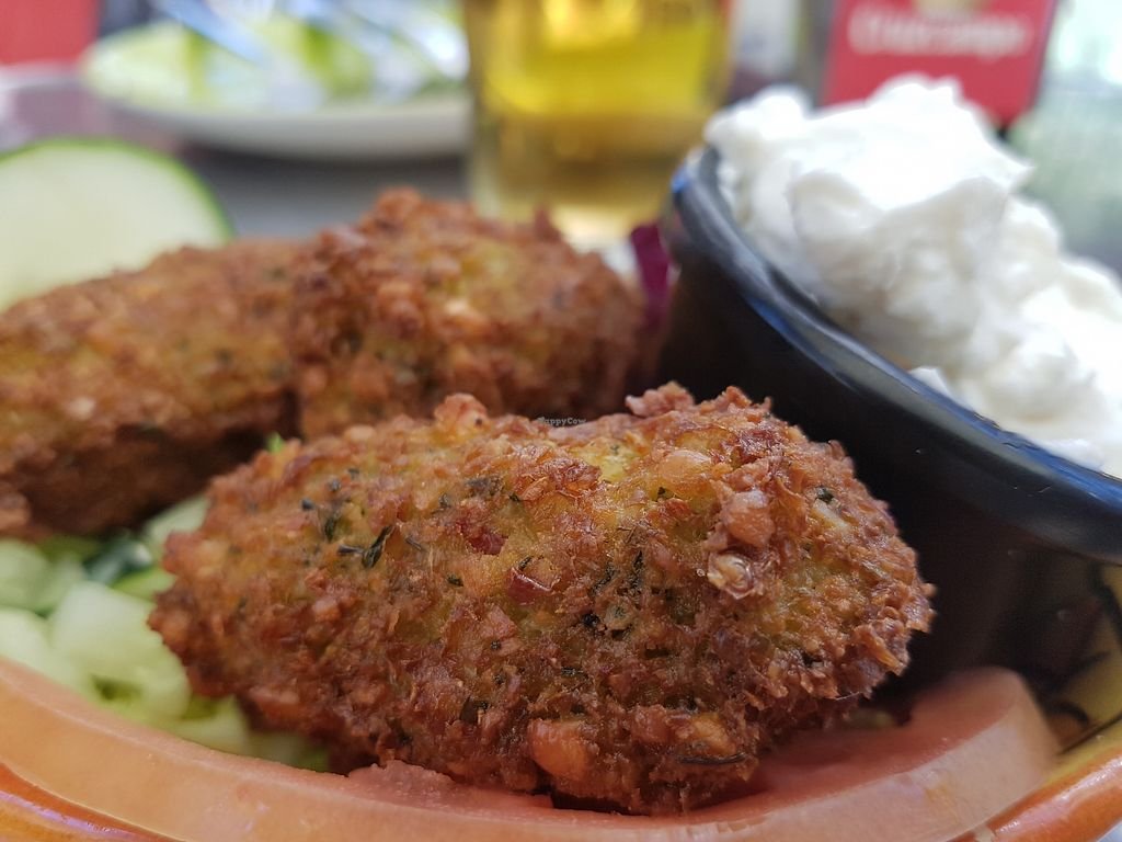 "Photo of Arte y Sabor  by <a href=""/members/profile/Rosa%20veg"">Rosa veg</a> <br/>Falafel  <br/> February 18, 2018  - <a href='/contact/abuse/image/35579/361037'>Report</a>"