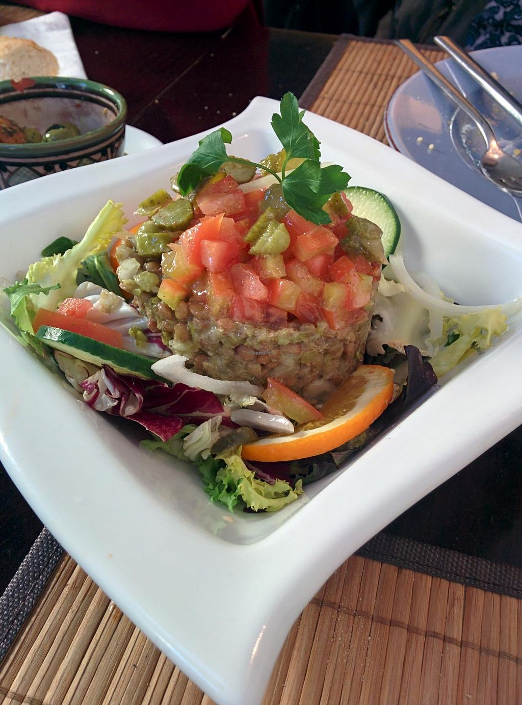 "Photo of Arte y Sabor  by <a href=""/members/profile/Harp"">Harp</a> <br/>Lentils salad <br/> January 2, 2014  - <a href='/contact/abuse/image/35579/61535'>Report</a>"