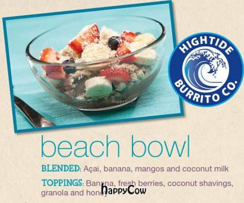 """Photo of High Tide Burrito  by <a href=""""/members/profile/JessinJax"""">JessinJax</a> <br/>Beach Acai Bowl <br/> December 4, 2012  - <a href='/contact/abuse/image/35582/41231'>Report</a>"""