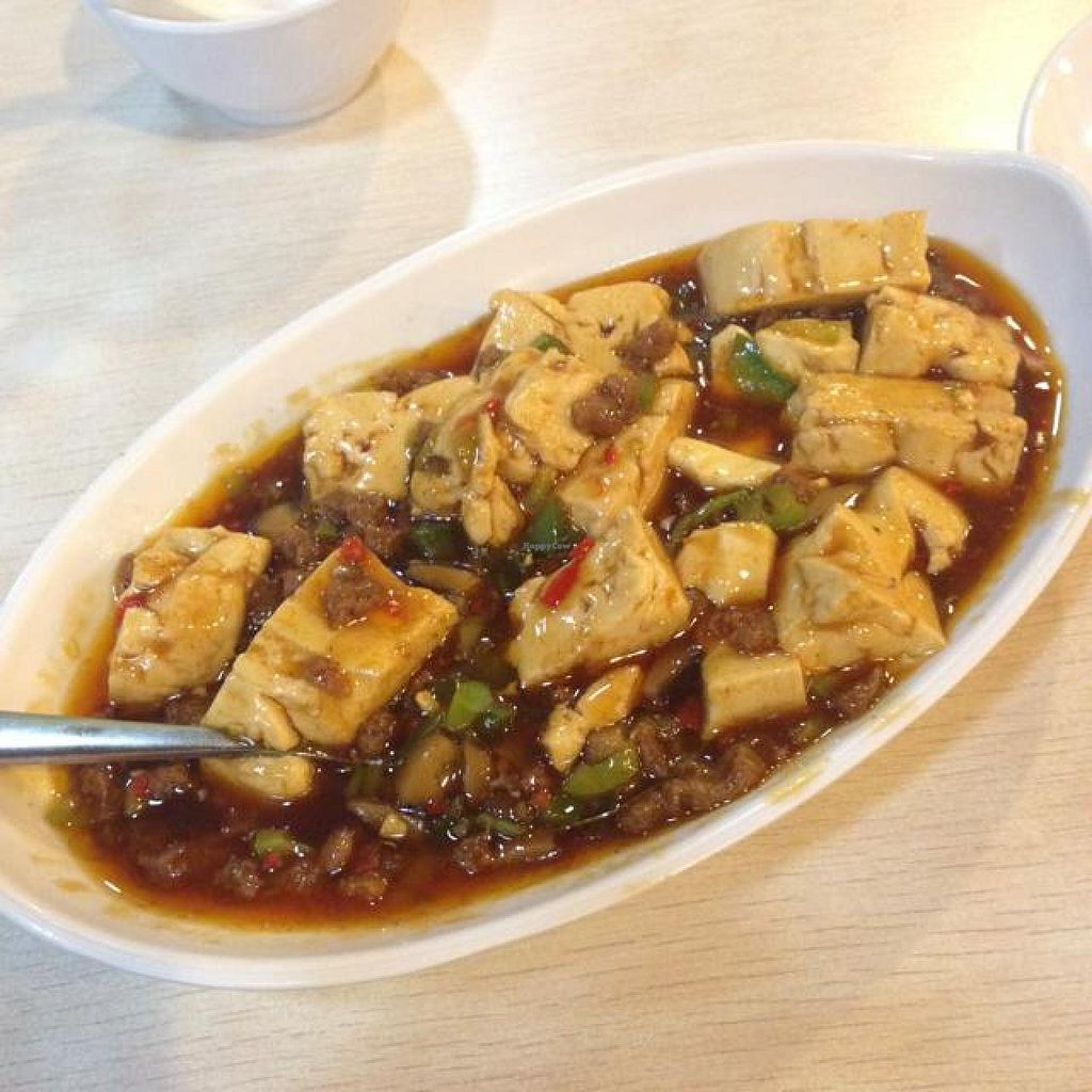 """Photo of Love Health Vegetarian   by <a href=""""/members/profile/AndyT"""">AndyT</a> <br/>Ma-Po tofu (was special order) <br/> July 12, 2014  - <a href='/contact/abuse/image/35610/73826'>Report</a>"""