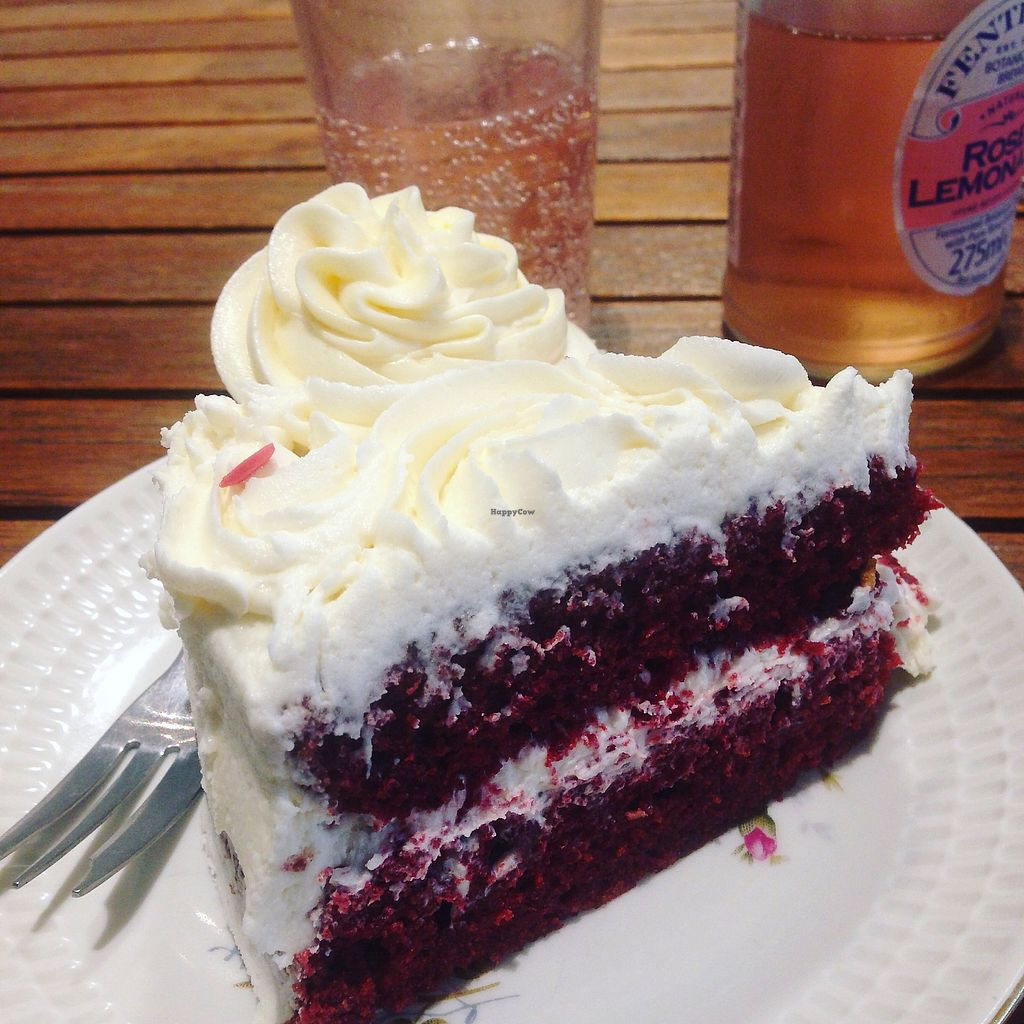 """Photo of Heavenly Cupcakes  by <a href=""""/members/profile/Cakerino"""">Cakerino</a> <br/>Delicious vegan red velvet <br/> September 5, 2017  - <a href='/contact/abuse/image/35621/301085'>Report</a>"""
