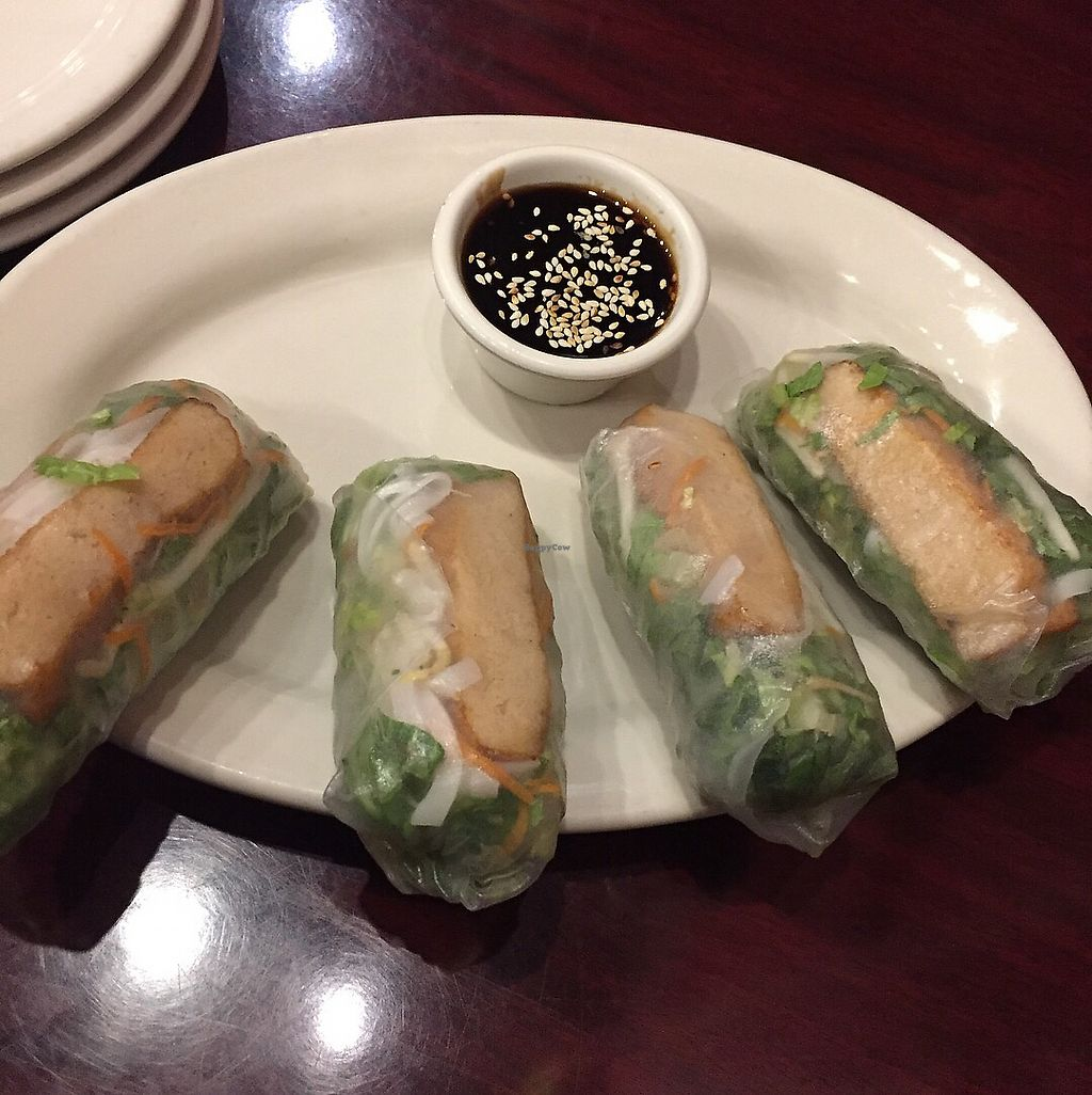 """Photo of Thai Vegan - Nob Hill  by <a href=""""/members/profile/chris1"""">chris1</a> <br/>Freshy rolls amazing !  <br/> December 9, 2017  - <a href='/contact/abuse/image/35625/333769'>Report</a>"""