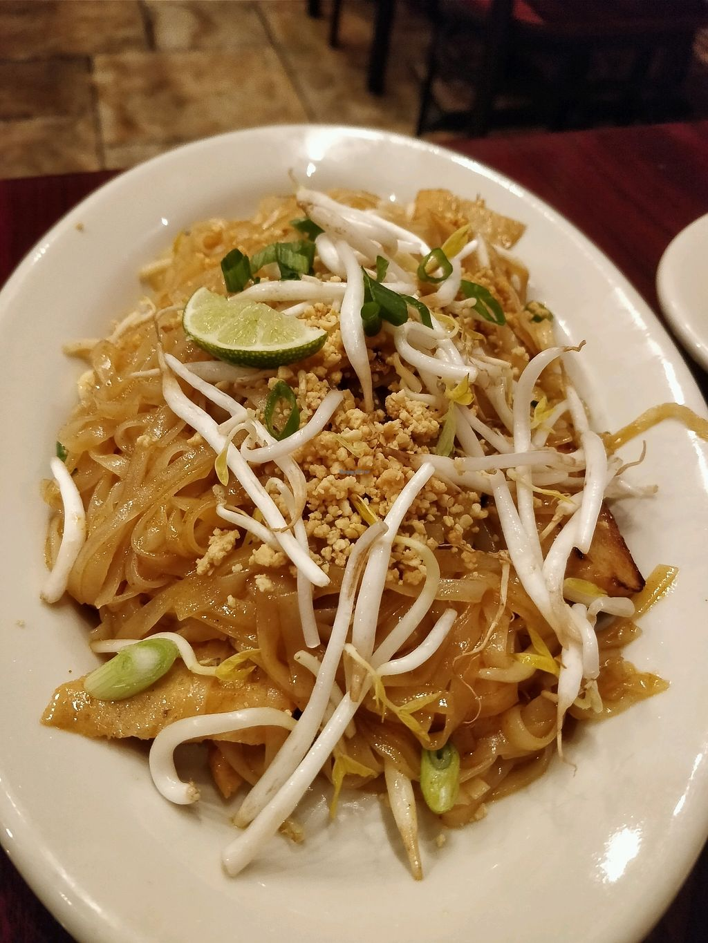 """Photo of Thai Vegan - Nob Hill  by <a href=""""/members/profile/Chrisarnold"""">Chrisarnold</a> <br/>pad thai <br/> February 12, 2018  - <a href='/contact/abuse/image/35625/358210'>Report</a>"""