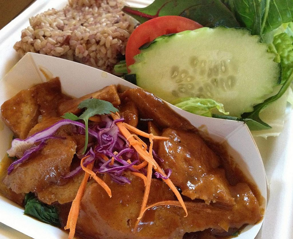 Photo of Thai Vegan - Nob Hill  by RamblingVegans <br/>Praram's Plate.  Loved this! <br/> March 2, 2014  - <a href='/contact/abuse/image/35625/65088'>Report</a>