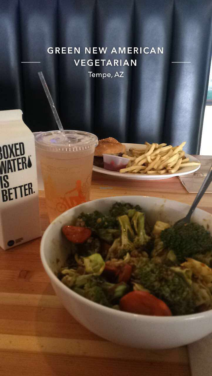 """Photo of Green New American Vegetarian  by <a href=""""/members/profile/Helloimerinxo"""">Helloimerinxo</a> <br/>it wasn't my favorite but it was filling enough  <br/> July 18, 2017  - <a href='/contact/abuse/image/3562/281912'>Report</a>"""