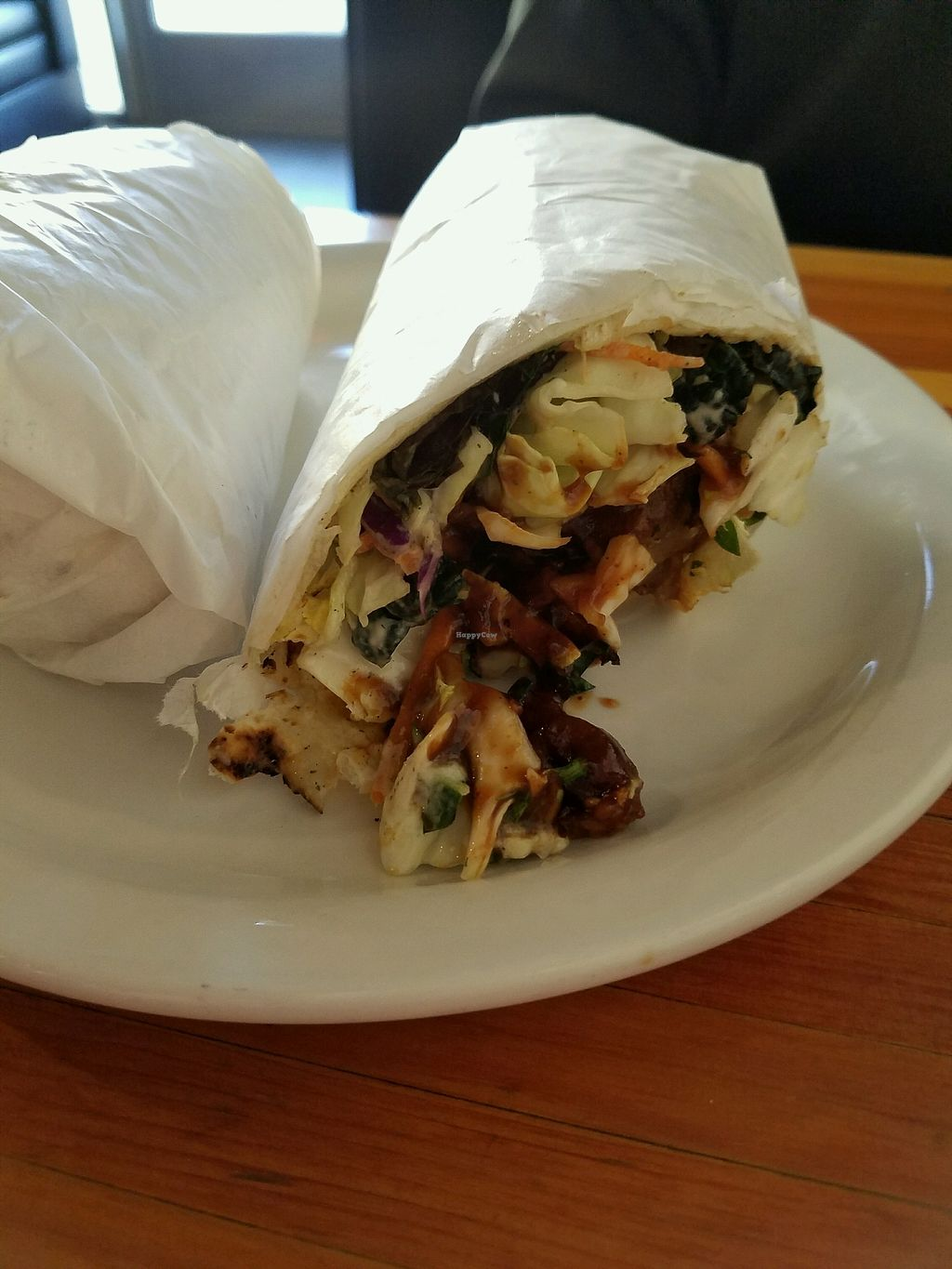 """Photo of Green New American Vegetarian  by <a href=""""/members/profile/JacqueEllis"""">JacqueEllis</a> <br/>Ranchero Burrito <br/> January 26, 2018  - <a href='/contact/abuse/image/3562/351266'>Report</a>"""
