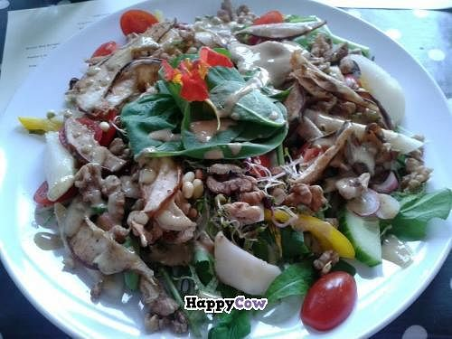 """Photo of CLOSED: ORB Cafe  by <a href=""""/members/profile/TrixieFirecracker"""">TrixieFirecracker</a> <br/>Pear and Walnut salad <br/> July 21, 2013  - <a href='/contact/abuse/image/35637/51691'>Report</a>"""