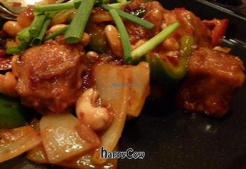 "Photo of Na Aroon  by <a href=""/members/profile/Miggi"">Miggi</a> <br/>Veggie 'chicken' with cashews and smoked dried chillies <br/> December 10, 2012  - <a href='/contact/abuse/image/35650/41478'>Report</a>"