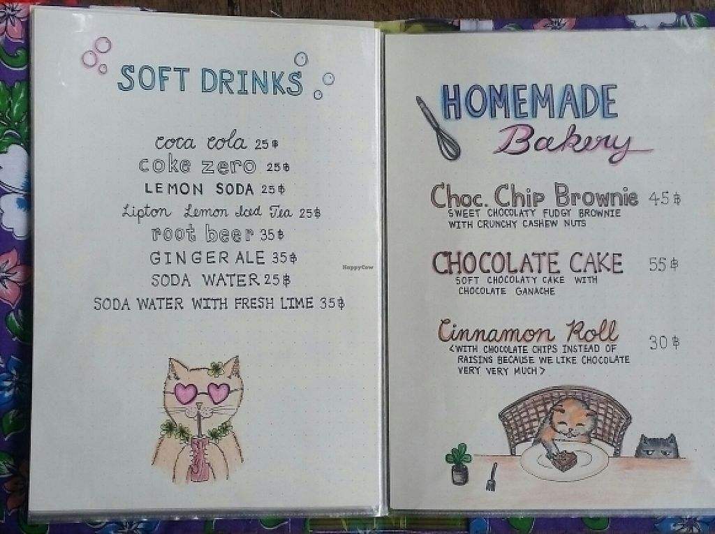 """Photo of Taa Peng Cat Coffee and Eatery  by <a href=""""/members/profile/Mike%20Munsie"""">Mike Munsie</a> <br/>menu 8 <br/> May 30, 2017  - <a href='/contact/abuse/image/35676/264111'>Report</a>"""