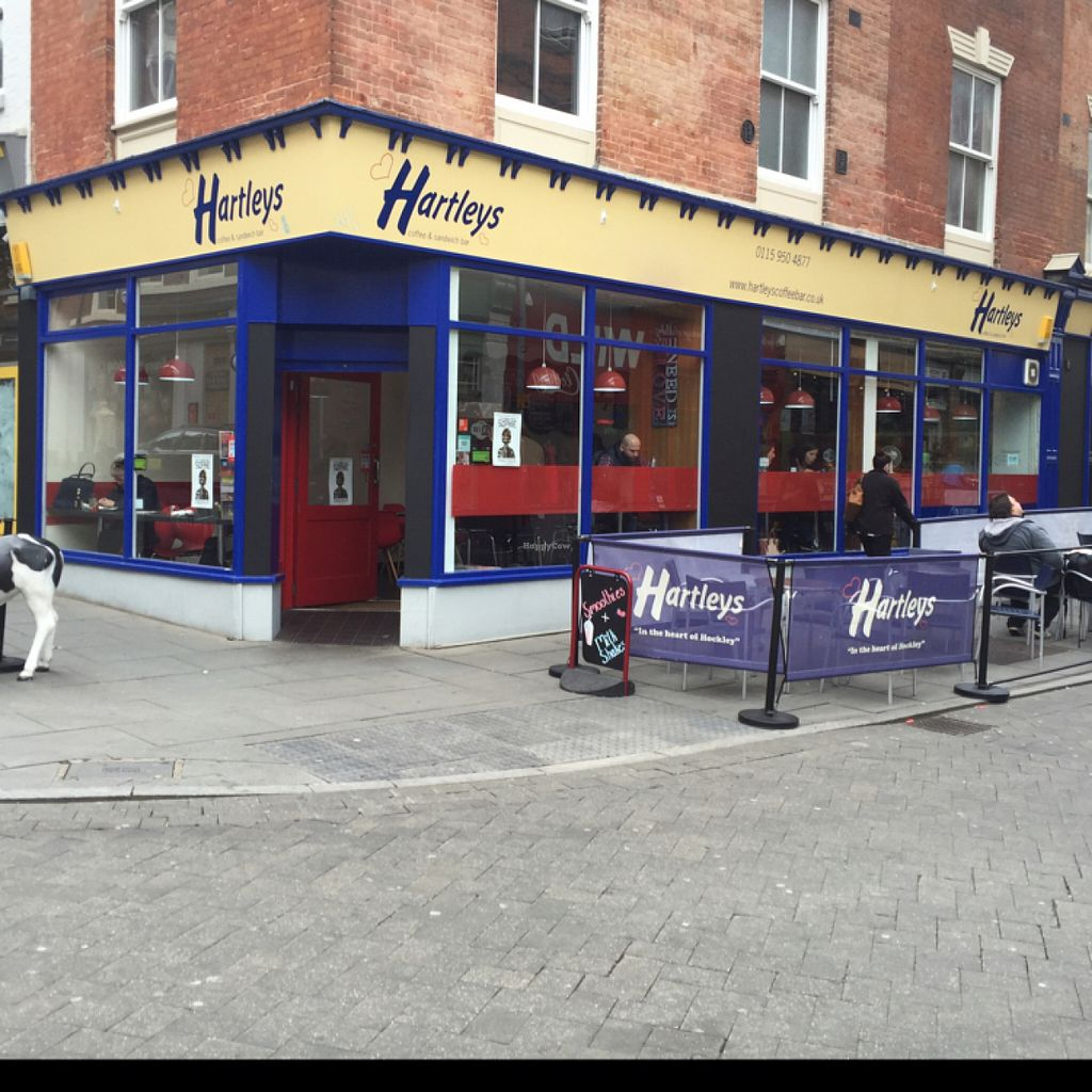 "Photo of Hartley's Coffee and Sandwich Bar  by <a href=""/members/profile/Chris_D"">Chris_D</a> <br/>Hartleys Cafe Nottingham <br/> June 2, 2016  - <a href='/contact/abuse/image/35687/151880'>Report</a>"