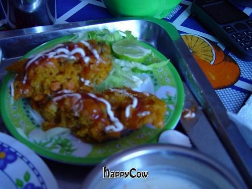 """Photo of Govinda's  by <a href=""""/members/profile/hierax"""">hierax</a> <br/>vegetable pakora <br/> March 11, 2013  - <a href='/contact/abuse/image/35702/45318'>Report</a>"""