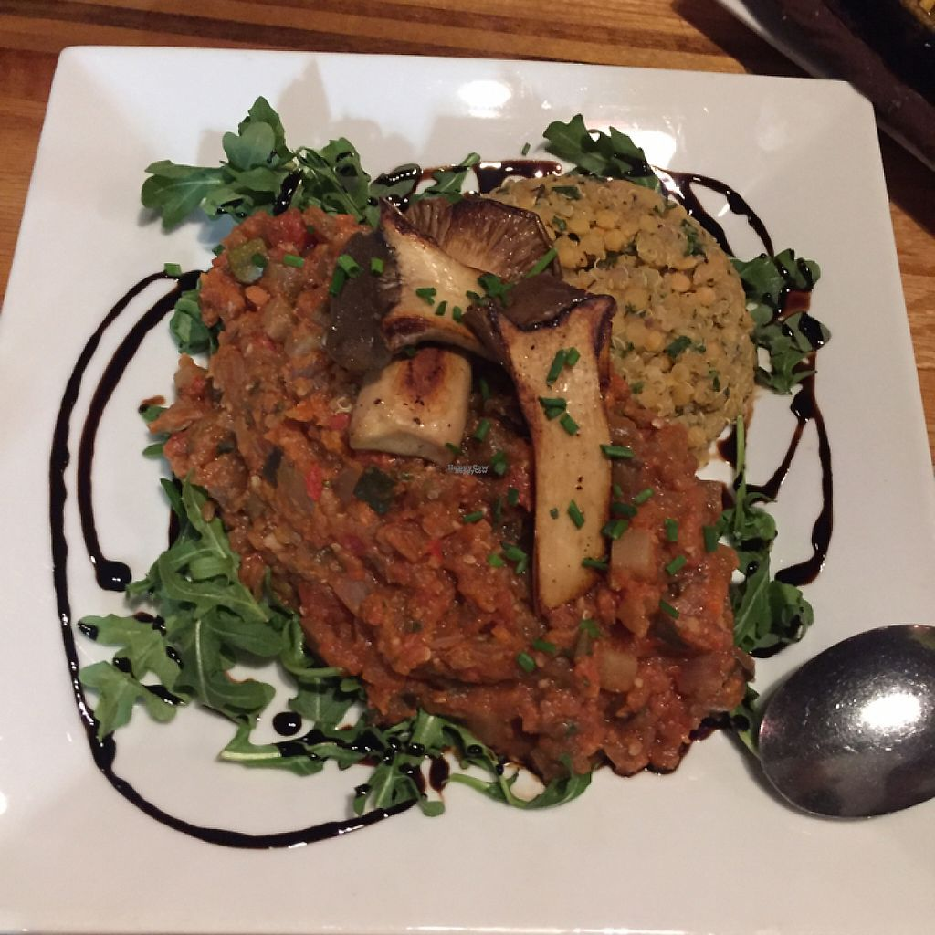 """Photo of Zest Kitchen & Bar  by <a href=""""/members/profile/LinnDaugherty"""">LinnDaugherty</a> <br/>ratatouille- those mushrooms are amazing!!! <br/> February 21, 2017  - <a href='/contact/abuse/image/35705/228658'>Report</a>"""