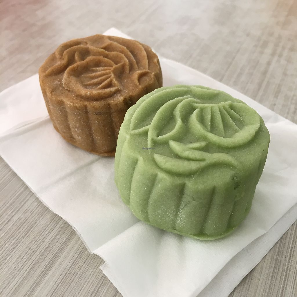 "Photo of Eastern Highland Healthy Cake House  by <a href=""/members/profile/whollyvegan"">whollyvegan</a> <br/>vegan mooncakes  <br/> August 29, 2017  - <a href='/contact/abuse/image/35720/298532'>Report</a>"