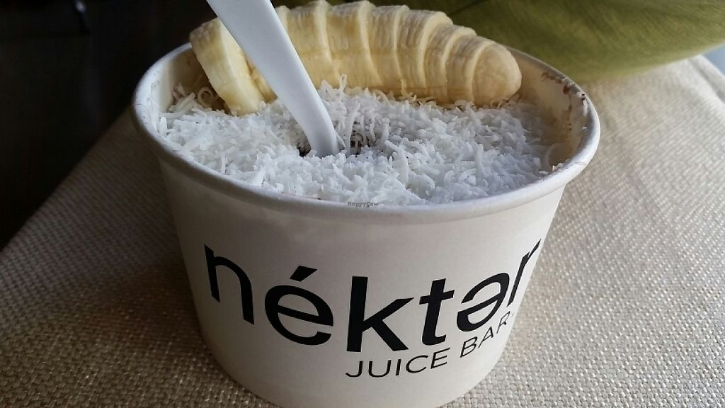 "Photo of Nekter Juice Bar  by <a href=""/members/profile/eric"">eric</a> <br/>acai bowl, no granola, no agave <br/> June 2, 2017  - <a href='/contact/abuse/image/35759/265174'>Report</a>"