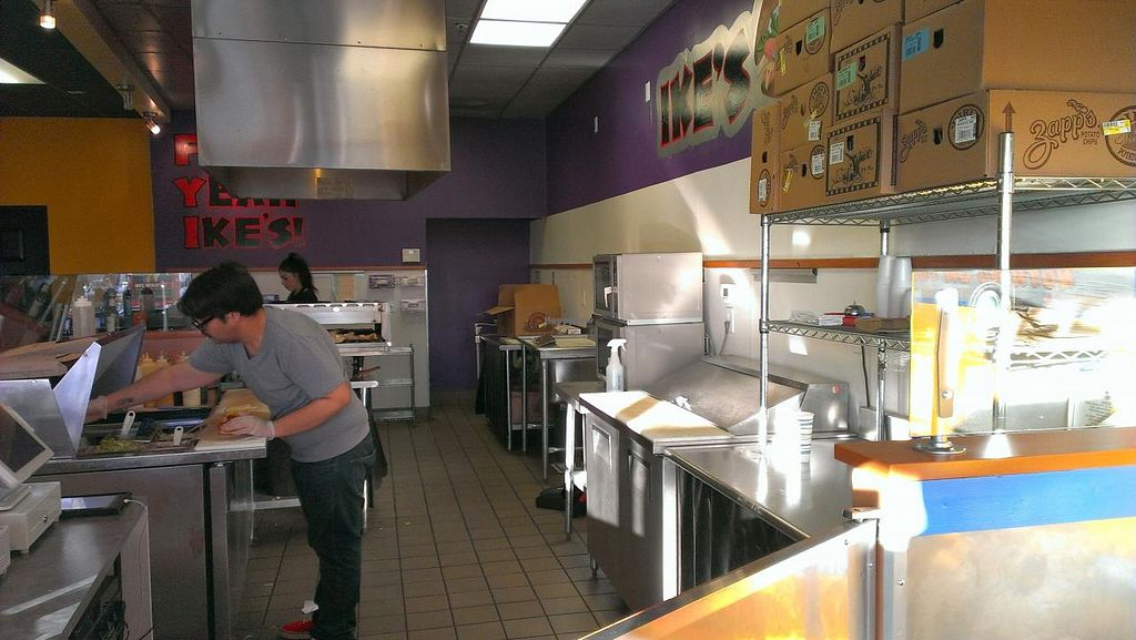 """Photo of Ike's  by <a href=""""/members/profile/mmeghani"""">mmeghani</a> <br/>Clean kitchen <br/> March 13, 2014  - <a href='/contact/abuse/image/35774/65813'>Report</a>"""