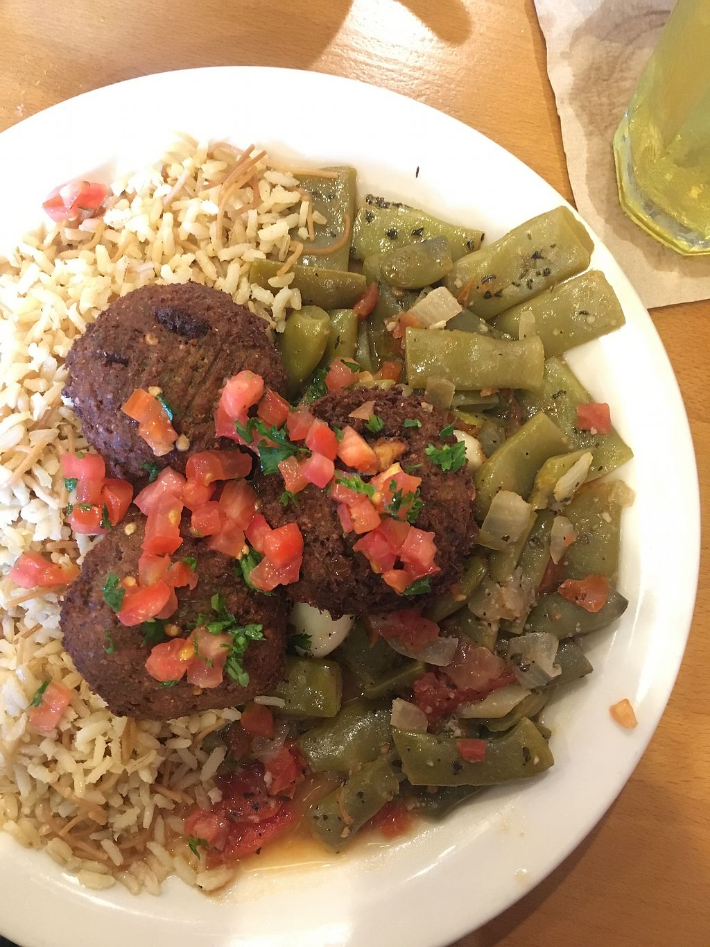 "Photo of Aladdin's Eatery  by <a href=""/members/profile/Jaclynch_eats"">Jaclynch_eats</a> <br/>Loubie plate with falafel <br/> March 15, 2018  - <a href='/contact/abuse/image/35832/371051'>Report</a>"